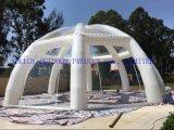 سقف كبير واضحة قابل للنفخ كوخ قبّيّ ثلجيّ خيمة مع نفق مدخل