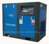 55kw/75HP de olie spoot Compressor van de Lucht van de tweeling-Schroef van de Energie van de Besparing de Roterende in