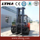 Gabelstapler-dreistufiger Mast 4.5meter 6 Tonnen-Diesel-Gabelstapler