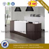 (HX-5N421)白いオフィスのレセプションのカウンター表木MFCのオフィス用家具