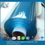 7mm épais souple écologique bleu doux clair des feuilles de porte en vinyle PVC