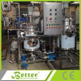 Maquinaria natural solvente do extrator do petróleo essencial