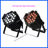 Ampoule LED 18PCS * 18W Zoom PAR Light