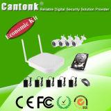 Ökonomischer voll 4 Kanal 1MP WiFi Installationssatz der IP-Kamera-NVR (WIFIPY420)