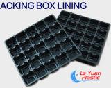 Vácuo do PVC que dá forma ao forro do empacotamento de alimento do plástico