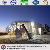 熱い販売のモジューラ設計の長い生命プレハブの鋼鉄構造研修会