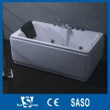 158x158cm esquina redondeada bañera Jacuzzi