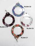 Neue handgemachte Plastikanzeigen-Gläser für Schlüsselring