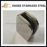 Abrazadera de cristal redonda del acero inoxidable