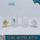 Стекло бутылки 30ml капельницы 1 Oz пустой замороженное косметикой