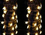 [أم] [لد] [ستريب ليغت] مع نجم وشجرة تصميم لأنّ عيد ميلاد المسيح عرس زخرفة