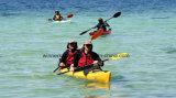 La venta caliente doble de 17 pies de longitud se sienta en el kajak China del mar para la venta