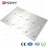 Embutido elegante sin contacto del PVC de MIFARE DESFire EV1 2k 6*8 RFID