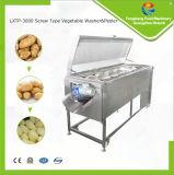 Lxtp-3000 Máquina de descascar a batata, máquina de lavagem e descascamento de cenoura / gengibre, lavadora de frutas e vegetais e descascador
