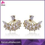豪華なデザイン女性のための最新の人工的なイヤリングの金の宝石類