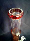 AA036 vendent la conduite d'eau de fumage en verre