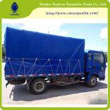 Tessuto rivestito del PVC del fornitore della Cina, tela incatramata impermeabile dell'azzurro della tela incatramata del PVC