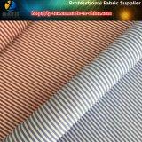 普及したT/Cのワイシャツのファブリック、ポリエステルまたはCottnの縞のワイシャツファブリック