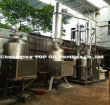 Negro completamente automática de aceite del motor de los residuos de aceite/COCHE/renovación de la planta de destilación del aceite del motor (EOS)