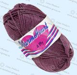 손 뜨개질을 하는 모직 털실