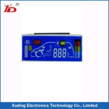 Höhenruder Stn LCD blaue LED Hintergrundbeleuchtung des Bildschirmanzeige-Segment-