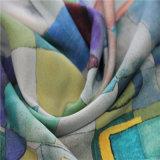Digital-Drucken für Silk Mischungs-Wolle-Gewebe mit Schwergewicht