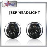 ジープのオートバイのハンマーのための側面のハローの角度の目7のインチ円形LEDのヘッドライト