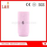 kit di ceramica dell'obiettivo del gas dell'ugello del cannello per saldare di TIG 13n10