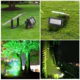 Eindeutige Entwurf RGB-Farben-Änderungs-verzieren Solarflut-Licht-Landschaftslicht für Garten
