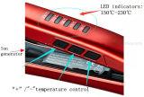 Mch turmalina cerámica plana de iones con generador de iones y de la cerradura, la radiación de calor