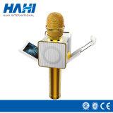 Marqueur original M6 Microphone intelligent Haut-parleurs Haut-parleur Microphone Karaoke sans fil avec clip et écran de téléphone mobile