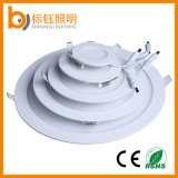 LED Light Round Ceiling Indoor Lighting 6W Slim Panel Lamp (Alumínio + Vidro + Ferro + Plástico)