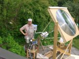 Lente de Fresnel de cozimento solar do grande tamanho (HW-F1000-5)