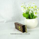 Doos van het Tin van de Chocolade van het Metaal van de douane de Kleine Rechthoekige, Doos van het Tin van het Suikergoed van de Chocolade de Verpakkende