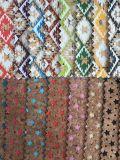 Couro de grão de madeira do projeto novo para sapatas, sacos, vestuário, decoração, mobília (HS-Y05)
