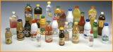 Máquina de etiquetado automática de la funda del PVC de la botella
