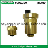 ISO9001 ha certificato la valvola a sfera forgiata ottone del cunicolo di ventilazione (IC-1051)