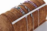 Banco di mostra eccellente del velluto di alta qualità per il braccialetto