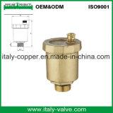 ISO9001 certificó la vávula de bola forjada latón de la salida de aire (IC-1051)