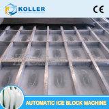 10 tonnellate di grande capienza di ghiaccio di macchina del blocco con il raffreddamento diretto