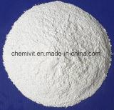 Blanca de partículas o polvo de lactato de calcio