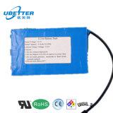Pacchetto personalizzato della batteria della batteria di ione di litio 12V 24ah LiFePO4 per la batteria chiara solare del LED