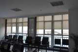 Cortinas Chain plásticas do exterior das cortinas de rolo da Dobro-Camada da tração da cortina da máscara de Sun do escurecimento para Windows
