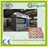 Bandeja de huevos de papel que hace la máquina