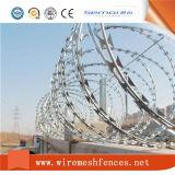 Tipo trasversale galvanizzato elettrico collegare del rasoio per la rete fissa della prigione