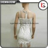 Настраиваемые короткое замыкание стакан белого платья юбки женщин и Дамы платье женщины повседневные платья бутик