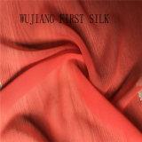 Ткань Georgette Silk рейона твердая покрашенная, Silk ткань Ggt, Silk ткань Ggt бленды. Silk смешанная ткань Ggt