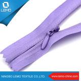 Cremallera invisible de nylon barata usada para el monedero de las señoras