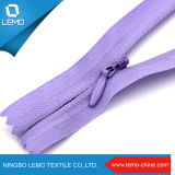 Barato Zipper invisível de nylon utilizado para senhoras na bolsa