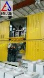 Pesatura mobile del tipo ed unità insaccante con il contenitore